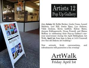 Artists 12 April 1 2016 Pop-up