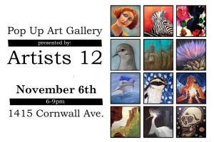 Artists 12 Nov 6 Pop-up