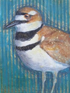 Aura Killdeer 9″ x 12″ Mixed Media 135 Lyn Jackson