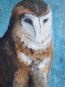 meditate-barn-owl-18x24-acrylic