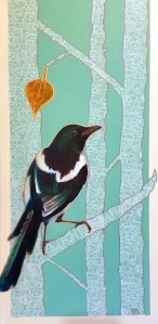 The Last Leaf Magpie