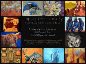 April 2015 Pop Up Gallery Announcement