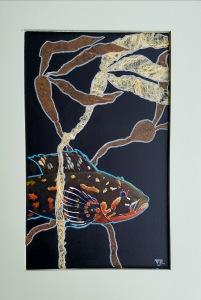 Incognito Salish Sea Kelp Greenling 14.75x21.5 600 Vikki Jackson and Lyn Jackson